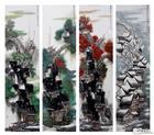《江南四季》四条屏